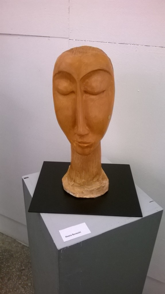 Ileana Buraschi scultura ceramica a tutto tondo