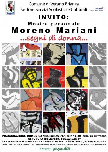 Locandina Mostra Moreno Mariani
