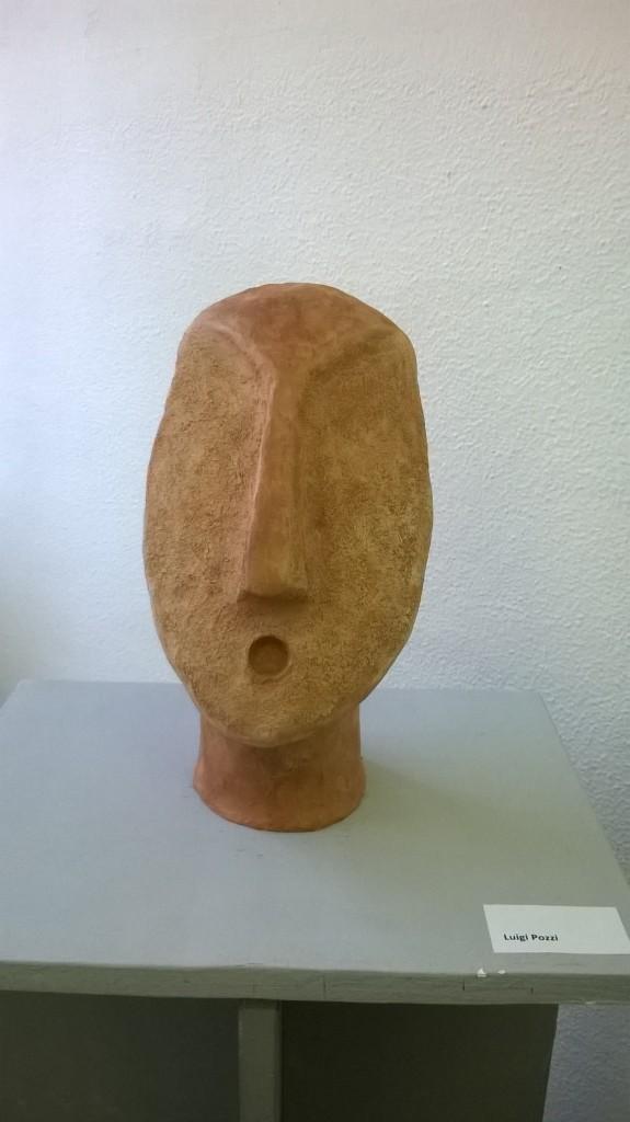 Luigi Pozzi scultura ceramica a tutto tondo
