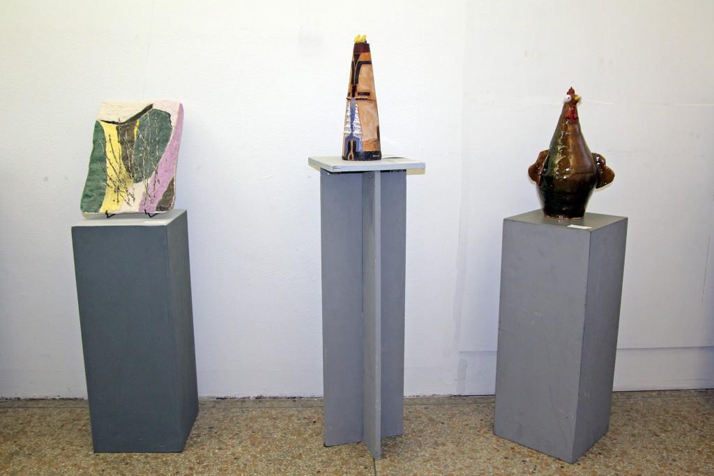 """Lissone     18/03/2017 FAL Fam.Artistica Lissonese - via s.Martino 34 studiolo - mostra collettiva di ceramica """"s'Forniamo Arte Libera"""""""