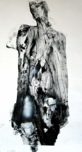 quadri Alessandrosabotatore interno, 2008, tecnica mista, 110x63 cm
