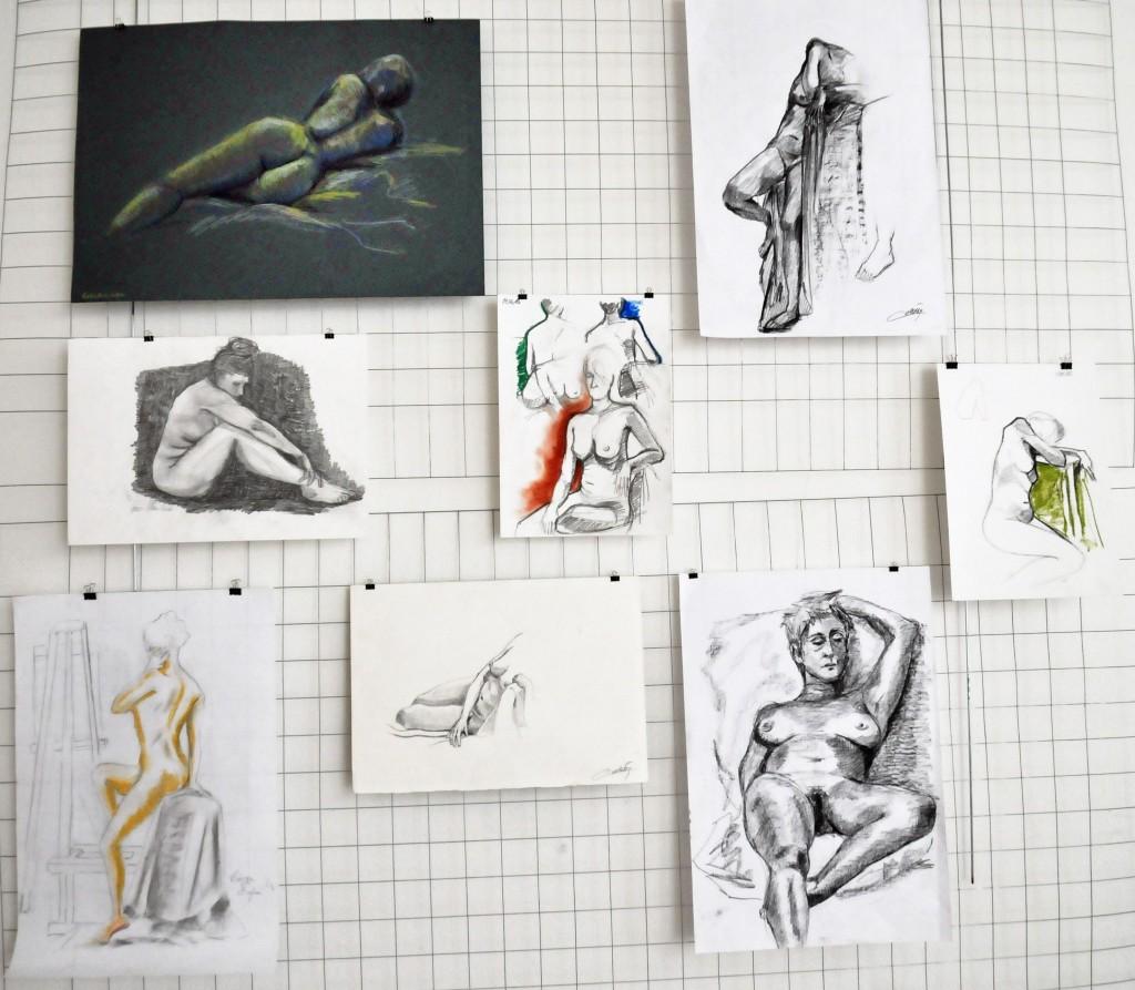 Foto il corpo disegnato su gabbia Antonio (13)