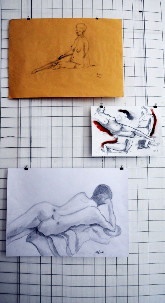 Foto il corpo disegnato su gabbia Antonio (14)