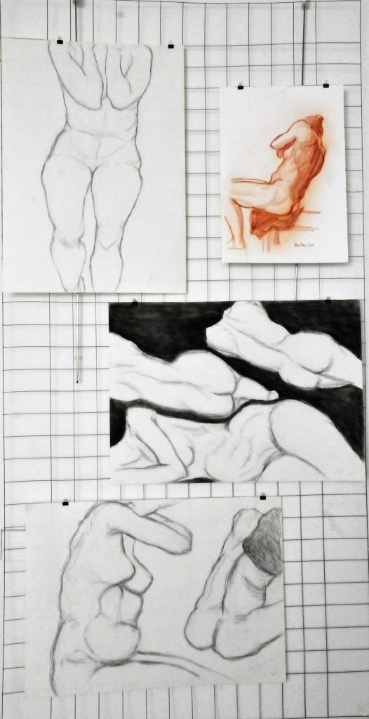 Foto il corpo disegnato su gabbia Antonio (8)