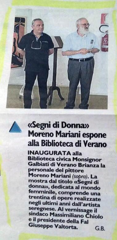 Dicono di noi Moreno Mariani 1